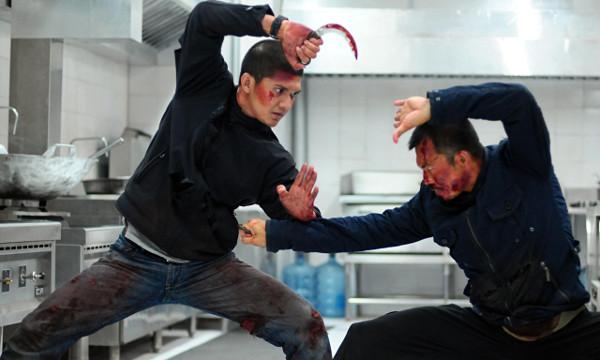 Iko Uwais and Cecep Arif Rahman duke it out in The Raid 2 (2014). Source: The Guardian