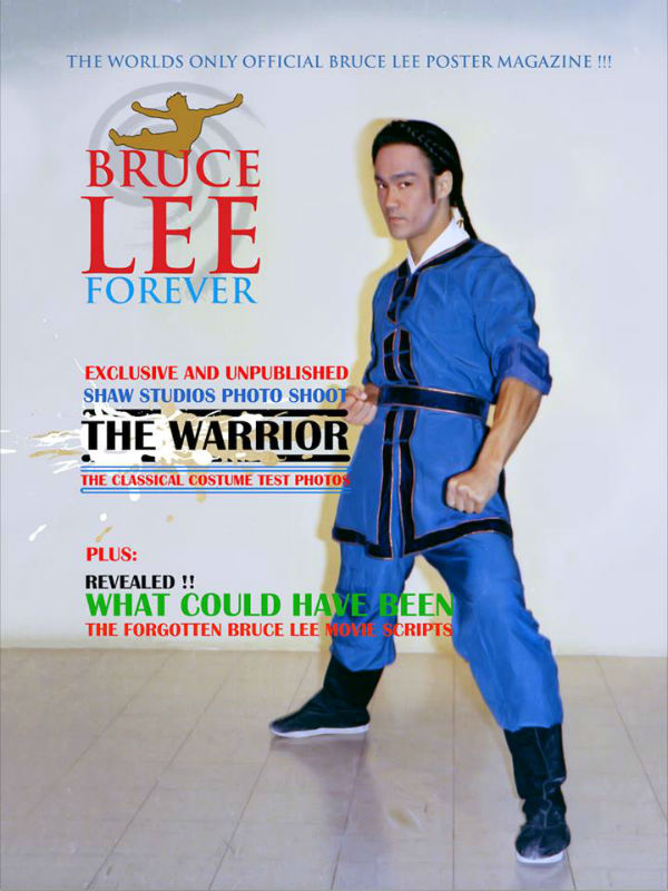 A copy of the Bruce Lee Forever poster magazine.