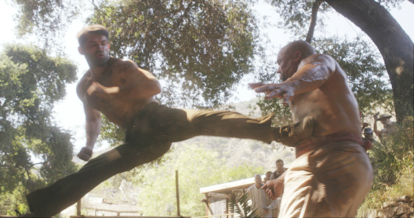 Scott Adkins in action for Jesse V. Johnson's Savage Dog, which is released in theatres from 4 August 2017 and available on VOD and iTunes from 8 August 2017 via XLrator Media.