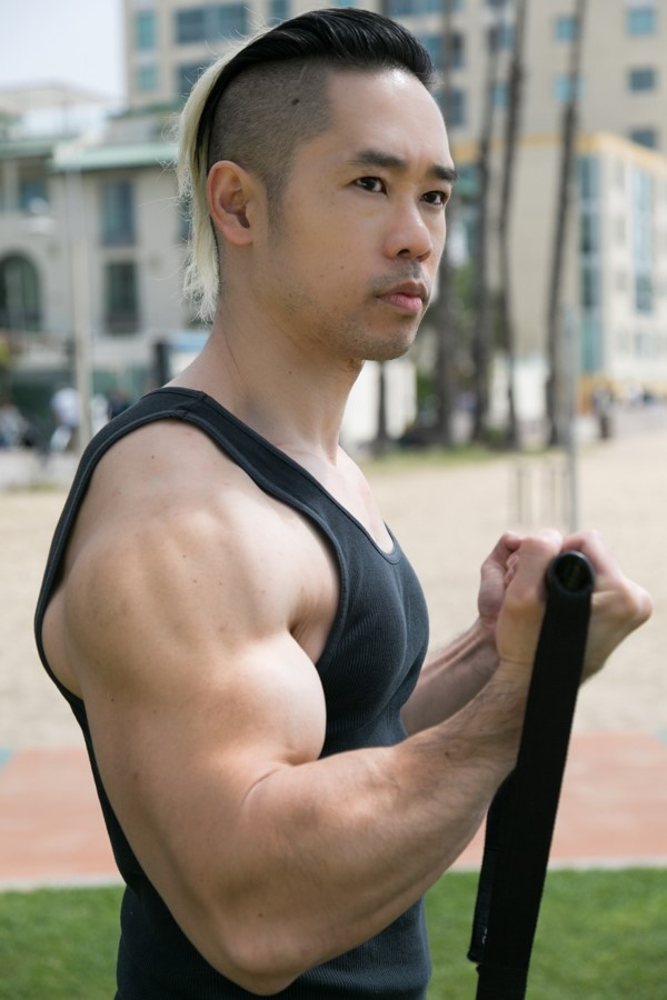 The actor and filmmaker, Daniel Lue.